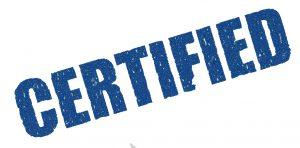 certification guarantee